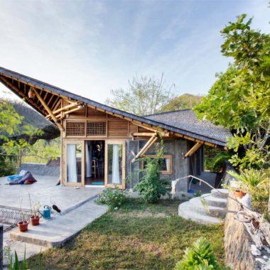 amazing bamboo villa