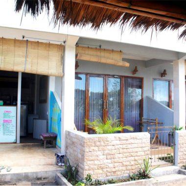 Beach front rooms Lombok Gerupuk