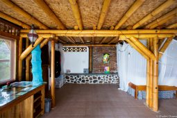 Siwak Bamboo House beds