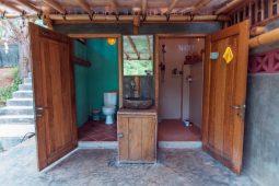 Eco toilets lombok gerupuk